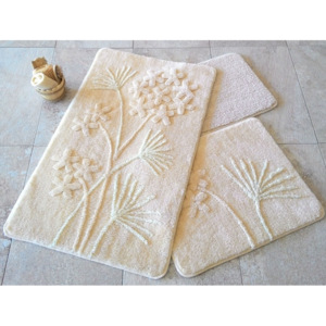 Set 3 covorase baie, Alessia Home, Orkide - Beige