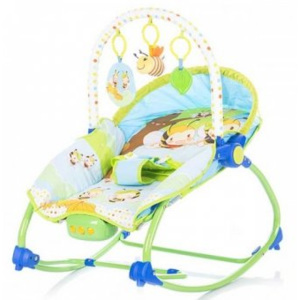 Scaunel Balansoar Chipolino Happy Children - Fiesta Bee