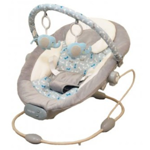 Leagan Muzical cu Vibratii Grand Confort Calm Baby - Grey