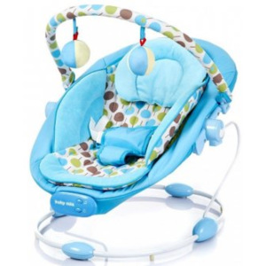 Leagan Muzical cu Vibratii Grand Confort Calm Baby - Blue