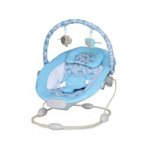 Leagan Muzical cu Vibratii Grand Confort Calm Baby - Hot Blue
