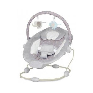 Leagan Muzical cu Vibratii Grand Confort Calm Baby - Hot Grey