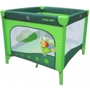 Tarc Pentru Joaca Happy Healthy Children - Green Caterpillar