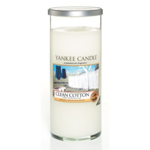 Yankee Candle lumânare parfumata Clean Cotton Décor mare
