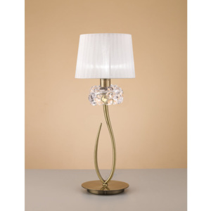 Mantra LOEWE CUERO 4736 Outlet cupru antic 1xE27 max. 23W d250x650 mm