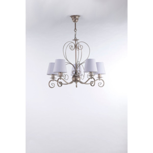 Namat MIRA SATYNA 3365 Candelabre, Lustre saten violet 5xE14 max. 40W 56x66 cm