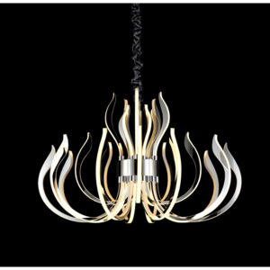 Mantra Versailles 5560 Lustre moderne crom crom LED - 1 x 256W 100 x 103 x 103 cm