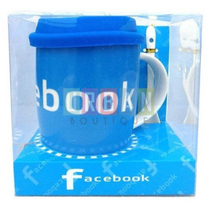 Cana ceramica 320 ml FACEBOOK