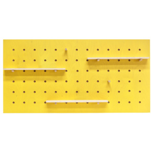 Cuier Triventi Rectangular Yellow