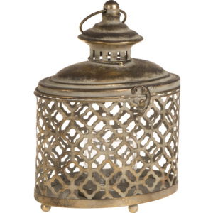 Felinar oval Atmosphere Antique Gold, Small