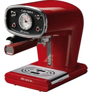 Espressor Ariete Cafe Retro Red 1388, 900W