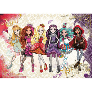 Fototapet: Mattel Ever After High (2) - 184x254 cm