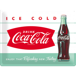 Placă metalică - Coca-Cola (Ice Cold)
