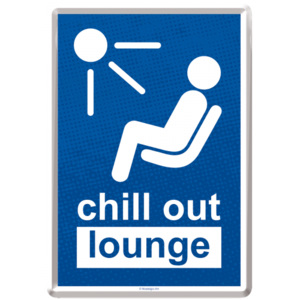 Ilustrată metalică - Chill out Lounge!