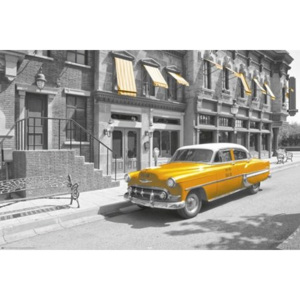 Poster - New York taxi car