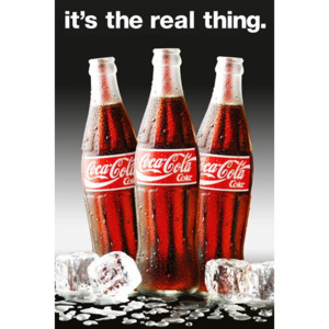 Poster - Coca-Cola Real thing