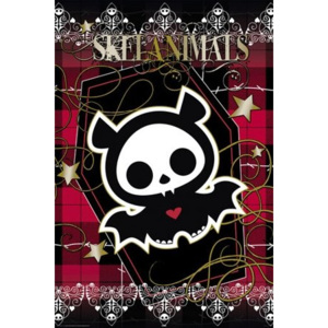 Poster - Skelanimals diego plaid
