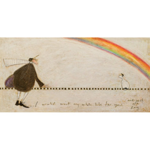 Tablou canvas - Sam Toft, I Would Wait My Whole Life For You
