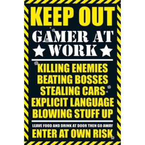 Poster - Gaming Keep Out