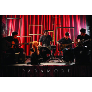 Poster - Paramore (Curtains)
