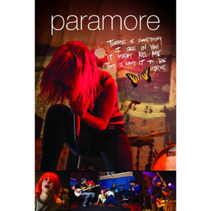 Poster - Paramore (Live)
