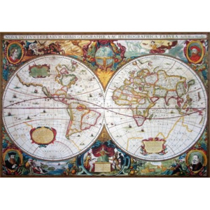 Poster - 17th Century World Map
