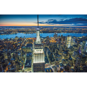 Poster - Empire State Building, Jason Hawkes