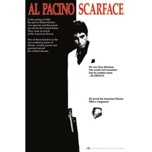Poster - Scarface onesheet