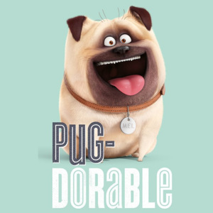 Poster - The Secret Life of Pets (Pug-Dorable)