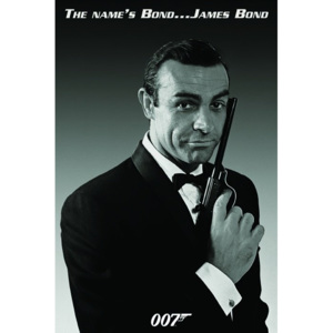 Poster - 007 The name's bond