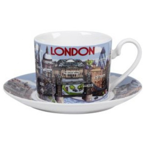 Cana si farfurie Highlights of London