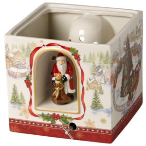 Decoratiune muzicala Christmas Toys gift box lg, sq train - Christmas Collection