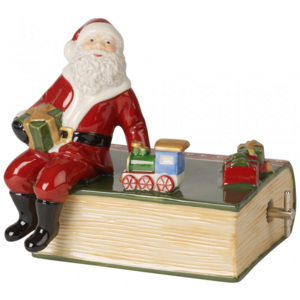 Cutiuta muzica Book with Santa - Christmas Collection