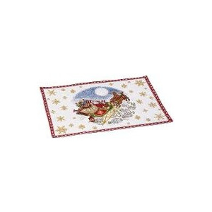Placemat individual Christmas toys 2017 gobelin Sled - Christmas Collection