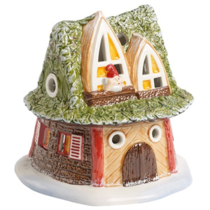 Decoratiune portelan Dwarfs house Fairytale park - Christmas Collection