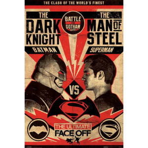 Poster - Batman vs. Superman (The Ultimate Face Off)