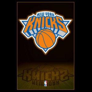 Poster - NBA New York Knicks Logo