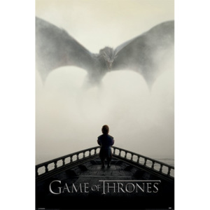 Poster - Game of Thrones (A LION & A DRAGON)