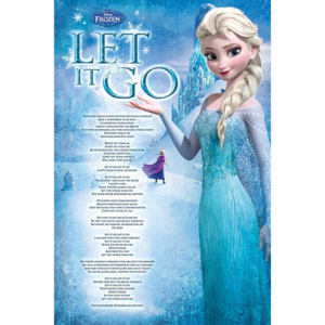 Poster - Frozen (Let it Go)