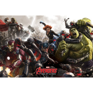 Poster - Avengers: Age of Ultron (BATTLE)