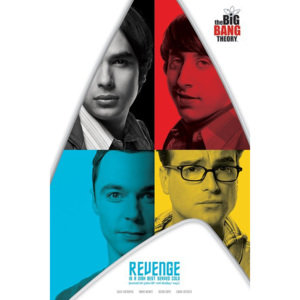 Poster - The Big Bang Theory (Revenge)