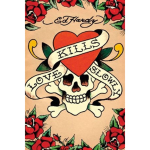 Poster - Ed Hardy love kills