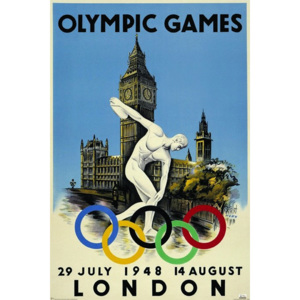 Poster - London 1948 Olympics (1)