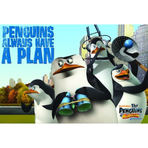Poster - Penguins of Madagascar