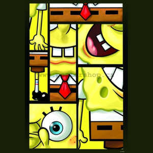 Poster - Spongebob (Mixed Up)