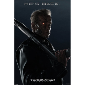 Poster - Terminator: Genisys (He's Back)