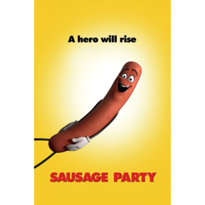 Poster - Buchty a Klobásy, Sausage Party