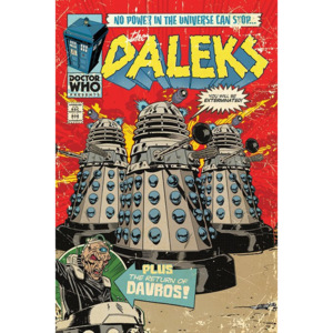 Poster - Doctor Who (Daleks - Comics)