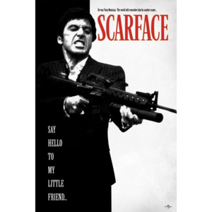 Poster - Scarface (Say Hello To My Little Friend)