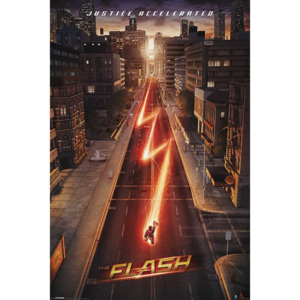 Poster - The Flash (Justice Accelerated)